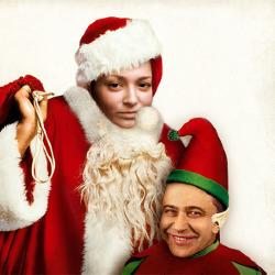 效果 坏圣诞老人