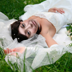 Efekt Bride in Grass