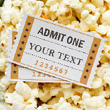 효과 Cinema Ticket