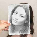 تأثير Drawing and Photo