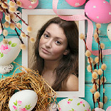 Effect Easter Frame