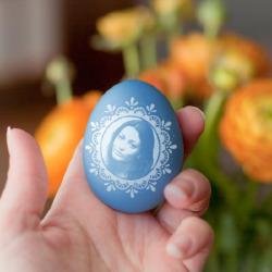 효과 부활절 달걀