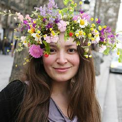 효과 Floral Wreath