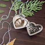 Efekt Heart Locket