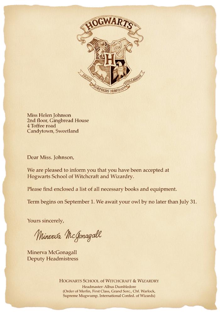Hogwarts Letter Photofunia Kostenlose Fotoeffekte Und Online