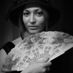 Efekt Lady with Fan