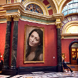 Efecto National Gallery in London