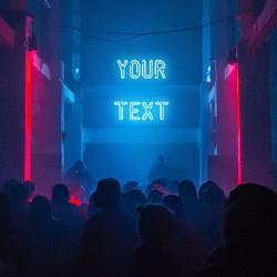 Effect Neon Writing