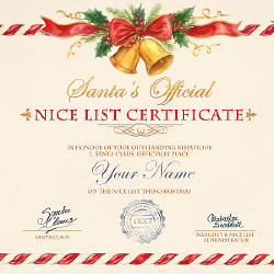 Effetto Nice List Certificate