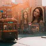 Effect Old Tram