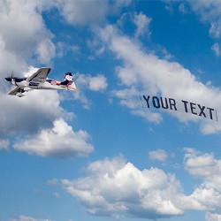 효과 Plane Banner