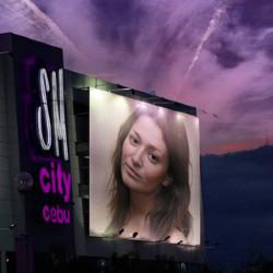 Эффект Фиолетовое небо