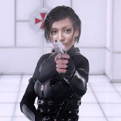 Efekt Resident Evil (Shooting)