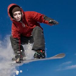 Effect Snowboarder