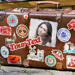 Efekt Traveler's Suitcase