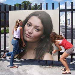 Photofunia Two Female Fans