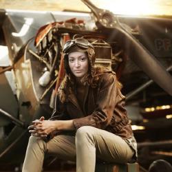 エフェクト Woman Pilot