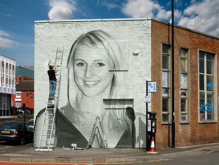 Art on the Brick Wall - PhotoFunia: Free photo effects and online ...