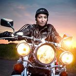 تأثير راكب الدراجة النارية