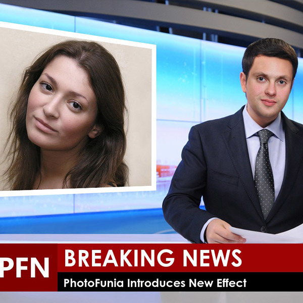 Breaking News - PhotoFunia: Free photo effects and online photo editor