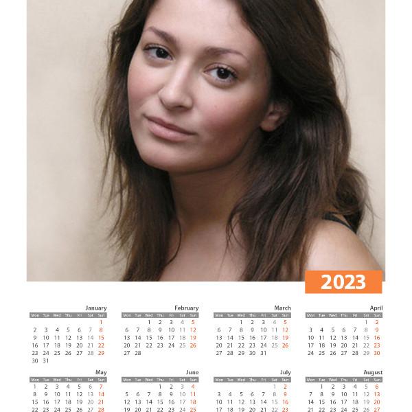Calendario - PhotoFunia: Efectos fotográficos gratuitos y editor ...