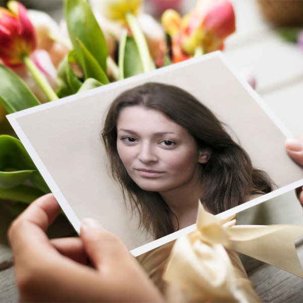 Card with Flowers - PhotoFunia: Free photo effects and online photo