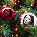 تأثير كرات شجرة عيد ميلاد المسيح
