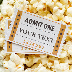 Efecto Cinema Ticket