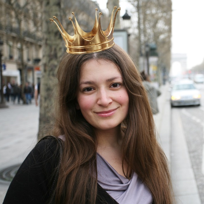 одеть корону на фото онлайн