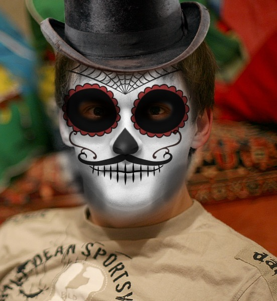 Day Of The Dead Photofunia Free Photo Effects And Online Photo Editor