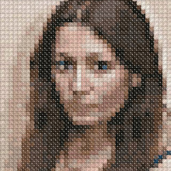 Effetto Cross-stitch