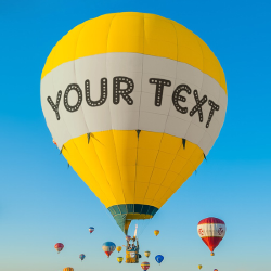 Effet Hot Air Balloon