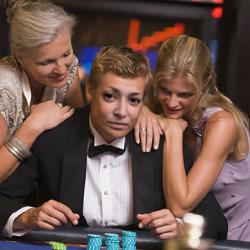 Effet Male Gambler