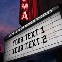 Effekt Movie Marquee