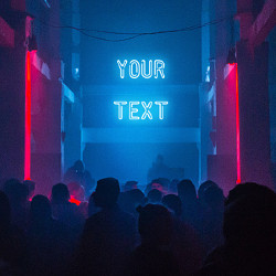 Efecto Neon Writing