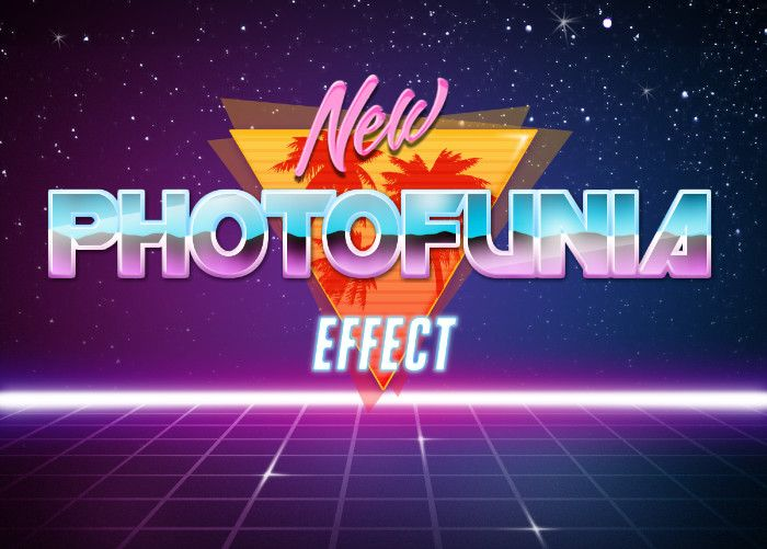 Retro Wave - PhotoFunia: Free photo effects and online photo