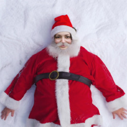 प्रभाव Santa Snow Angel