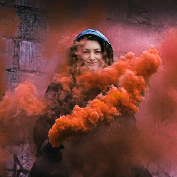 Effetto Smoke flare