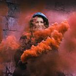 تأثير Smoke flare