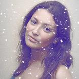 エフェクト 雪の日
