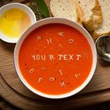 Ефект Суп с буквами