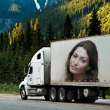 प्रभाव Truck Advert