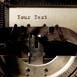 Effekt Typewriter