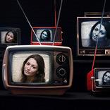 प्रभाव पुराने टीवी सेट