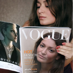 Ефект Журнал Vogue